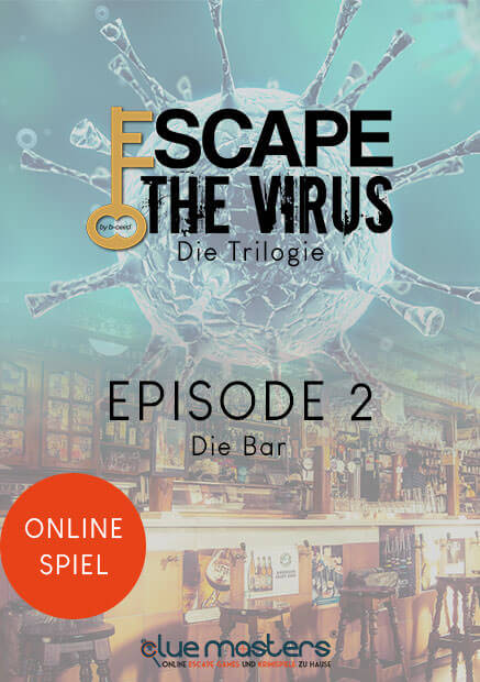 Remote Online Escape Game Episode 2 von Escape the Virus - Cluemasters