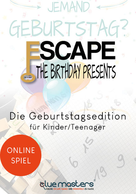 Online Escape the Birthday