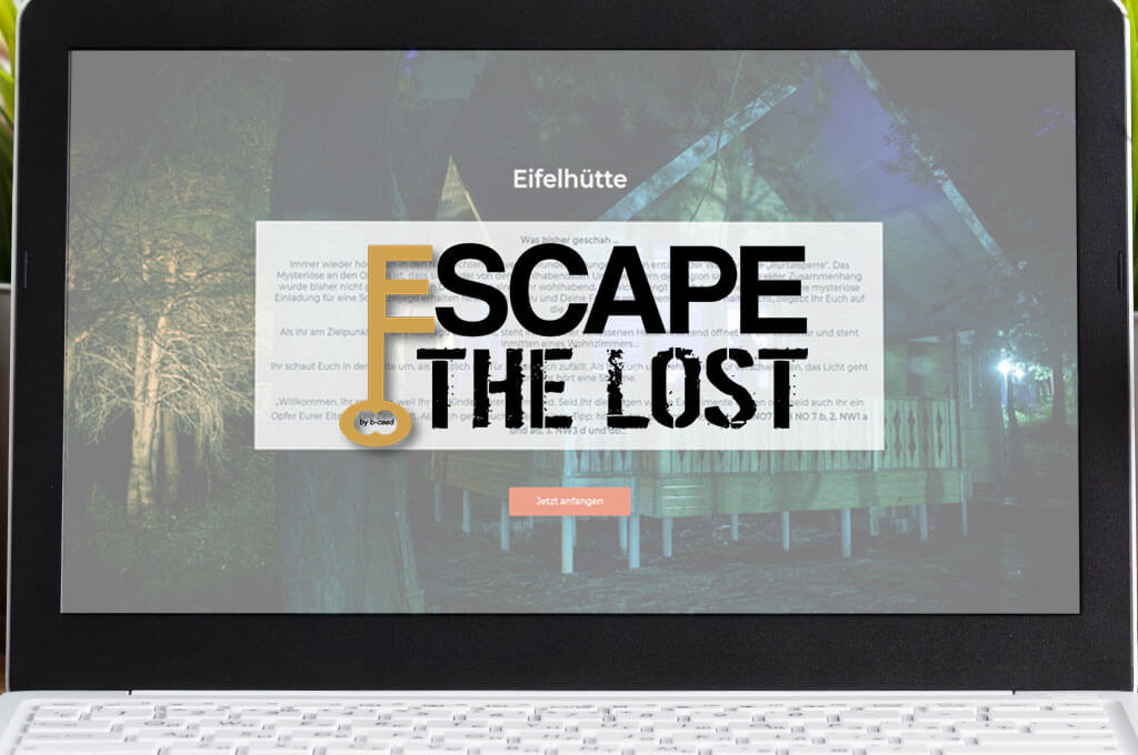 Escape the Lost - Online Escape Room Spiel - Cluemasters
